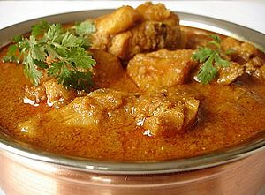 English: Chicken Curry