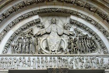 France, Abbey of la Madaleine Vezelay, 12th ce...