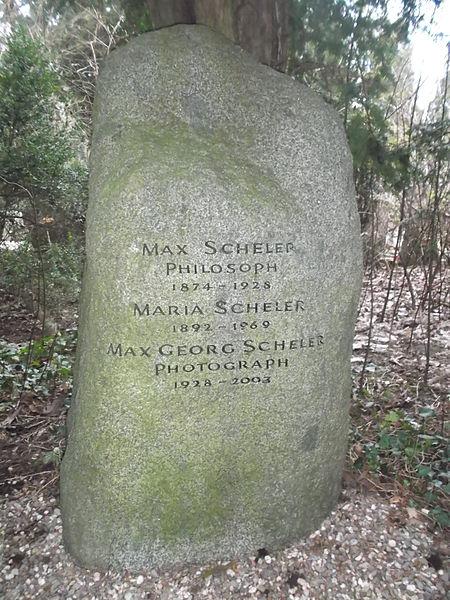 File:Grab Scheler Köln Südfriedhof (Max, Maria, Max Georg) nah.JPG