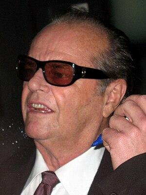 Deutsch: Jack Nicholson bei der deutschen Film...