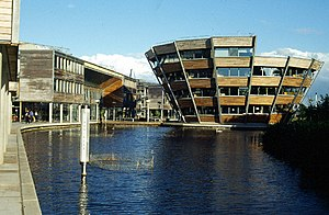 English: Jubilee Campus, Nottingham University...