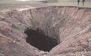 English: Kirstan's Hole. Actually, it isn't th...