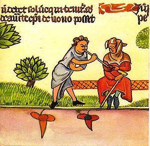 Español: Ilustración de un chascarrillo folcló...