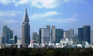 Skyscrapers of Shinjuku, Tokyo