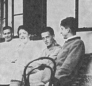 On the Hochreit, summer 1920. Ludwig Wittgenst...