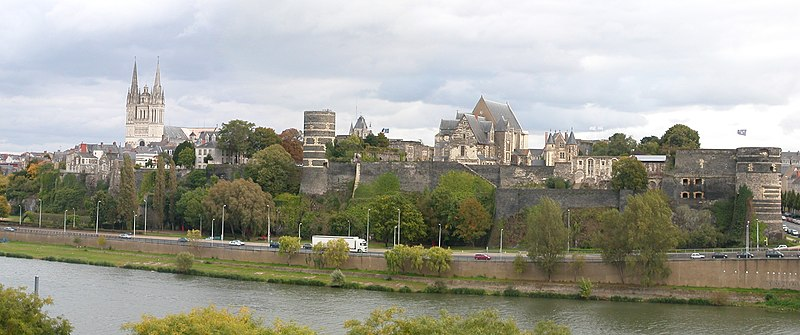 Angers Maine panorama