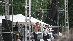 English: Jacob Hoggard of Hedley. This was fro...