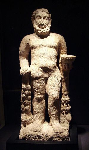 English: Hercules_Hatra_Iraq_Parthian_period_1...