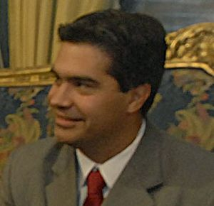 Jorge Capitanich. Gobernador Chaco. Argentina