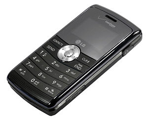 English: The LG ENV3 phone, or VX9200 for Veri...