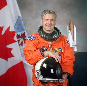English: Astronaut Marc Garneau, Canadian Spac...