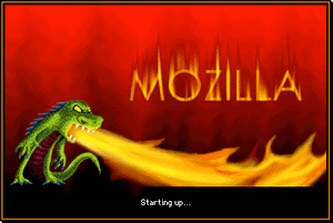 Mozilla Application Suite for Mac OS 9 Startup...