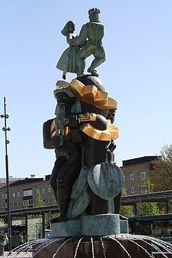 Folkpartist vill ha bort mao staty