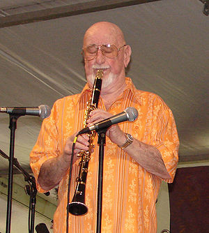Pete Fountain at the New Orleans Jazz & Herita...