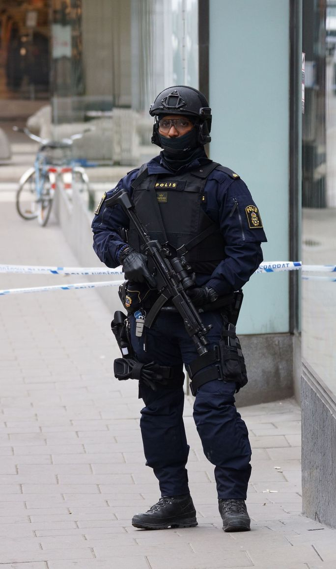 Task Force Police officer in Sweden