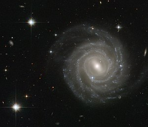 Barred spiral galaxy UGC 12158.
