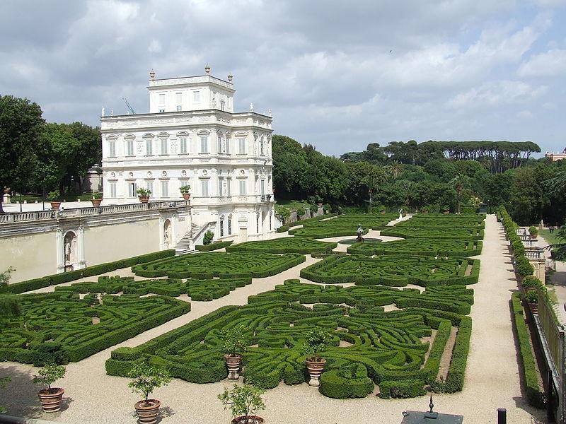 Parque em Roma: Villa Doria Pamphilj.