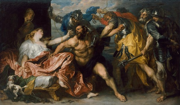 Samson and Delilah by Anthony van Dyck