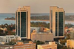 English: Bank of Tanzania headquarters. Dar es...