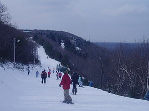 English: Mt.Camelback Ski Area Febr.2006