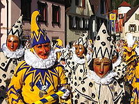 Carnaval na Alemanha.