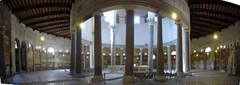 Roma, Santo Stefano Rotondo al Celio: interno ...