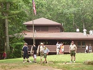English: Camp Yawgoog Medicine Bow Week 2 at l...