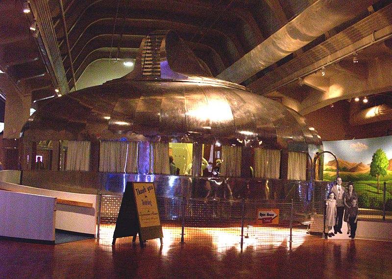 Dymaxion House, Henry Ford Museum, Buckminster Fuller, 1930.