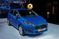 Papercraft imprimible del Ford Fiesta. Manualidades a Raudales.