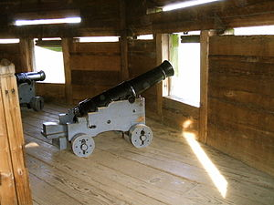 Fort Vancouver Cannons