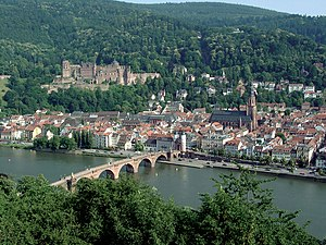 Deutsch: Die Stadt Heidelberg