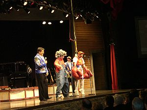 Branson famous, Herkimer and Cecil are perform...