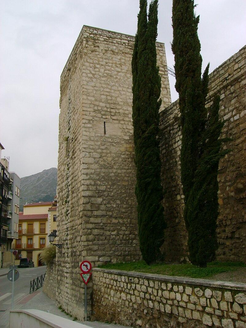 Mur médiévale arabe de Jaen