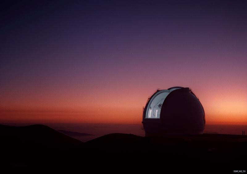 Keck Telescopy