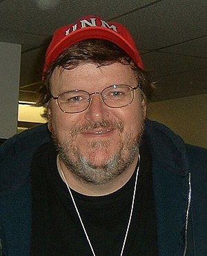 Michael Moore in 2004