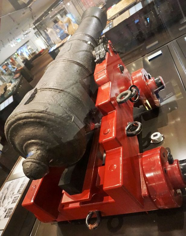 National Museum of Australia - Joy of Museums - Cannon from the Endeavour