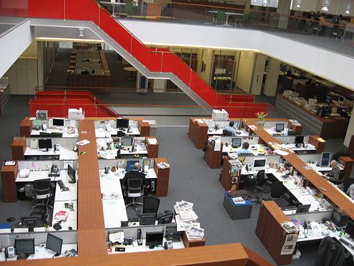 New York Times newsroom
