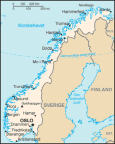 Norway From Wikipedia The Free Encyclopedia This Article Is About The European Country For