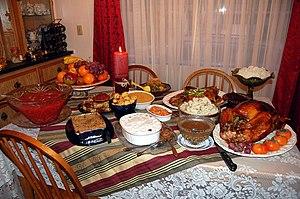 Tender, juicy roast turkey - the main attracti...