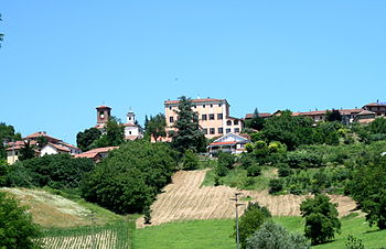 Italian wine region of Piedmont