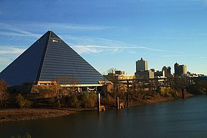 Memphis, Tennessee's Pyramid Arena was one of ...
