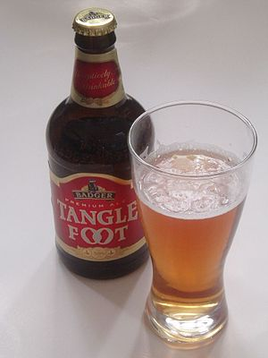Tanglefoot, from Badger Brewery (they don't br...