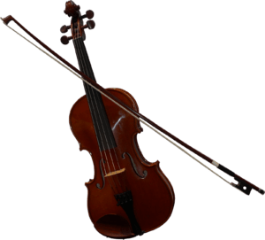 Violin-with-bow