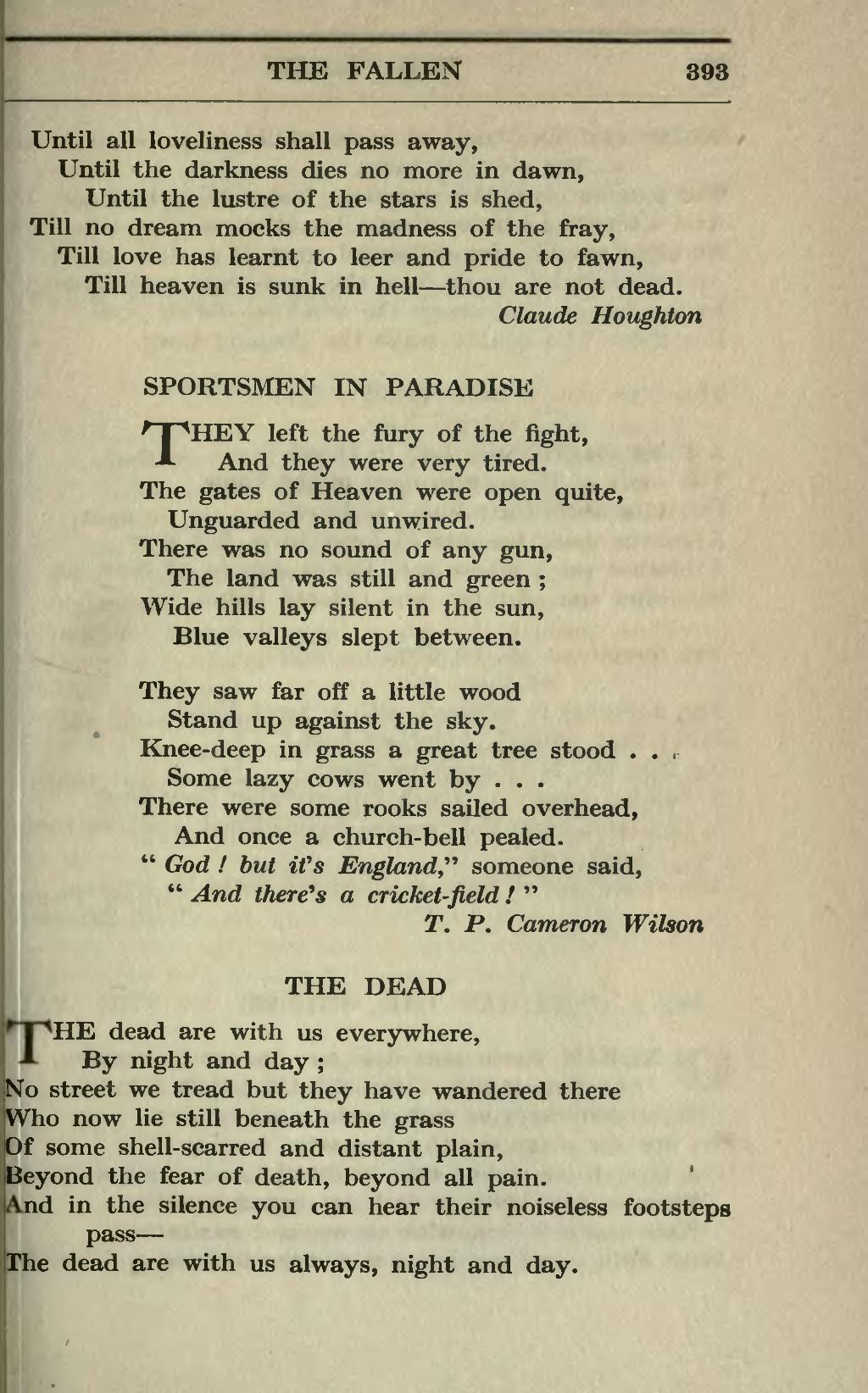 Page A Treasury Of War Poetry British And American Poems