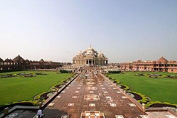 Delhi Akshardham in Delhi, India