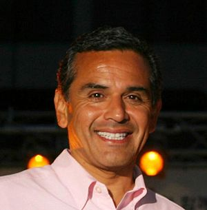 Los Angeles mayor w:Antonio Villaraigosa.