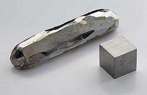 cadmium bar. Purity 99.999 %.