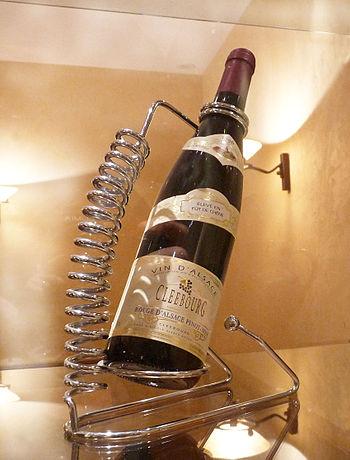 Français : Bouteille de Pinot noir à la Cave v...