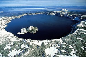 Crater Lake is a caldera lake in the U.S. stat...