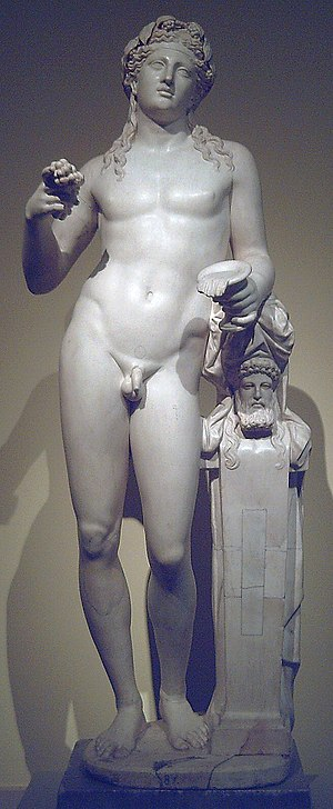 "Statue of Dionysus of the ""Madrid-Varese ..."